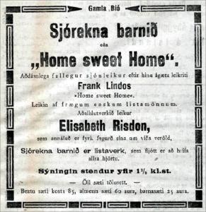Heiti kvikmynda voru þýdd frá fyrstu tíð.